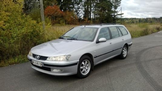 Myydään Peugeot 406 1999, Kouvola (RIU-813)